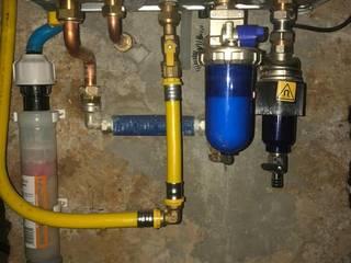 Installazione a regola d'arte di calda a condensazione con recuperatore di calore lato fumi di Patrizio dr. De Simoni