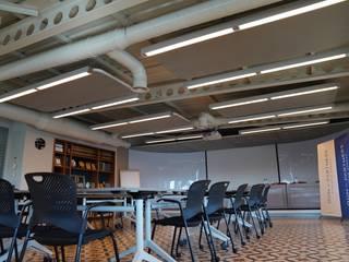 Zemberek Tasarım Fales Akustik Çözümler Modern Çalışma Odası Gri