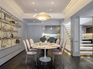 Happy Valley Modern dining room by Tommy Choi Design Modern