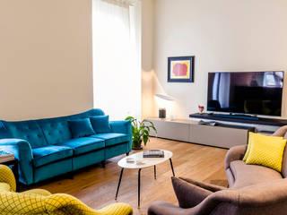 Colori da abitare Soggiorno moderno di FAD Fucine Architettura Design S.r.l. Moderno