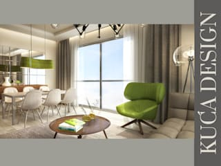 Kuca İnterior Design & Art Modern Living Room