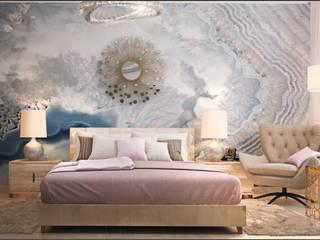 Студия Wall Street Paredes y pisosPapel tapiz