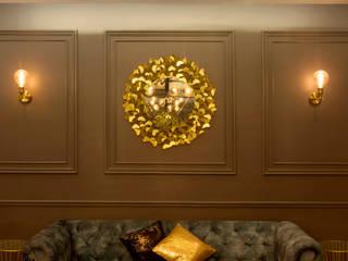 Mr. Saini_ Navi Mumbai Modern Living Room by Spaceplaner Design Studio Modern