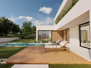Arquiteto João Contente – Casa NE por Arquiteto João Contente Associados