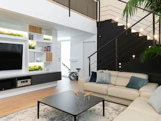 Livings de estilo moderno de Ideas Interiorismo Exclusivo, SLU Moderno