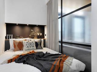 Apartament w stylu loftowym z nutką retro od buKadesign pracownia projektowa Industrialny