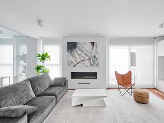 CASA GLAG Salones de estilo moderno de GUILLEM CARRERA arquitecte Moderno