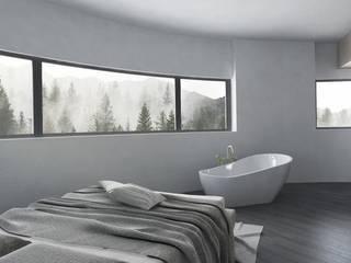 Un tetto tra la natura Camera da letto in stile classico di FAD Fucine Architettura Design S.r.l. Classico