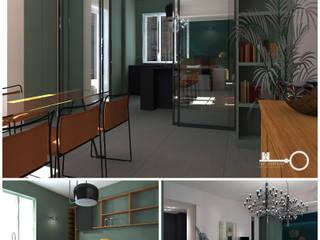 Progetto via XX Settembre Soggiorno moderno di The Apartment Moderno