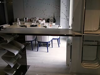 Baztek Mimarlık AŞ – 304 Kalite Paslanmaz Çelik Mobilyalar: modern tarz , Modern