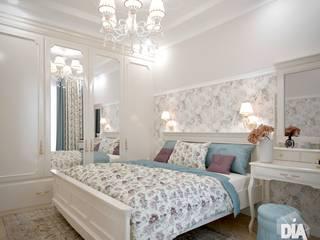 Небольшая квартира для молодой девушки Спальня в классическом стиле от Диана Забродина студия 'Dia-project' Классический