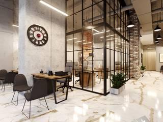 Офис продаж Офисы и магазины в стиле лофт от Диана Забродина студия 'Dia-project' Лофт