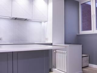 Отделка интерьера трехкомнатной квартиры в Бутово от ВАШ МАСТЕРЪ строительно-отделочная компания Минимализм