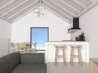 Alojamento Rural, São Roque Salas de estar modernas por Xavier Ávila arquitetos Moderno