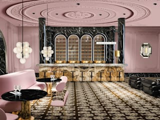 iconic design Hotels Marble Pink