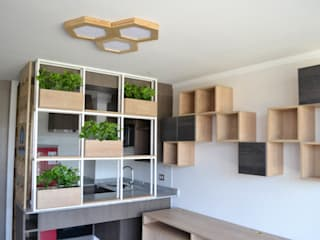 Oficinas Build-Ing de Vetas · Diseño Mobiliario Moderno
