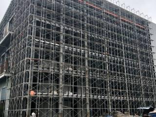 廠辦大樓玻璃帷幕 根據 HOYA 電動百葉窗 《 晟弈有限公司 》
