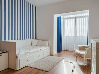 OOIIO Arquitectura Chambre d'enfant classique Bleu