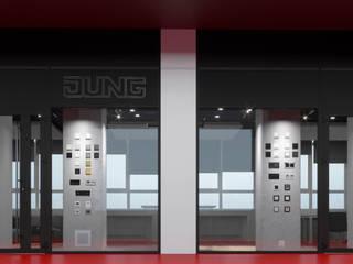 Шоу-Рум компании Jung Офисные помещения в стиле лофт от Nikafish design Лофт
