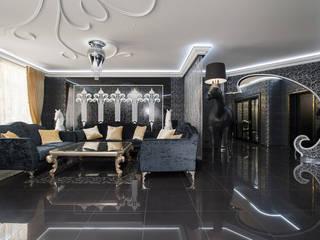 Ремонт и Отделка G-GROUP Гостиная в стиле модерн