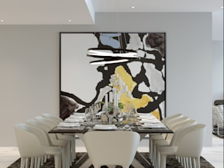 Alfonso Perez Ruang Makan Modern