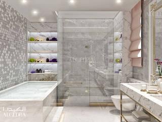 Bathroom design in luxury villa Classic style bathroom by Algedra Interior Design Classic