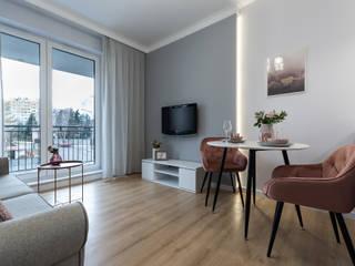 Mieszkanie W1 Klasyczny salon od DCODE Emilia Krysińska Projektowanie Wnętrz i Architektura Klasyczny