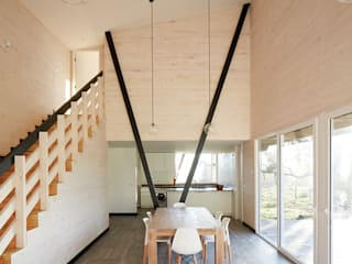 Casa Dos Pieles de Verónica Arcos Arquitectos Moderno