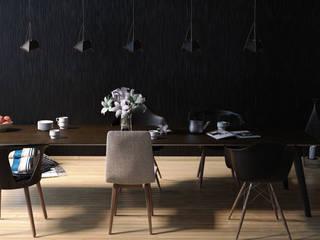 comedor de madera Comedores modernos de Mgarquitectos Moderno