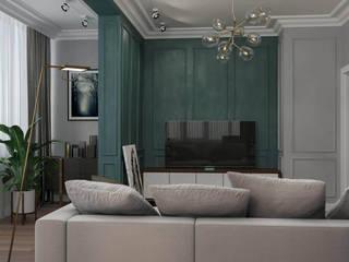 Cherokee Гостиная в стиле модерн от Мастерская дизайна ViO-design Модерн