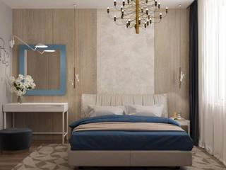 Cherokee Спальня в стиле модерн от Мастерская дизайна ViO-design Модерн