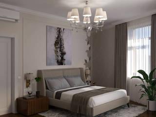 Foresters Спальня в стиле минимализм от Мастерская дизайна ViO-design Минимализм