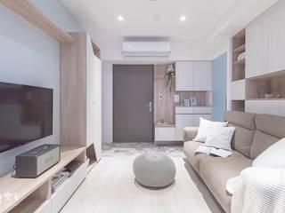 樂宅設計|汐止中研A+|兩房兩廳15坪新屋裝修 根據 樂宅設計|系統傢俱