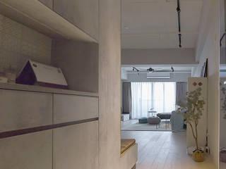 樂宅設計|桃園愛三街|三房兩廳35坪舊屋翻新 根據 樂宅設計|系統傢俱