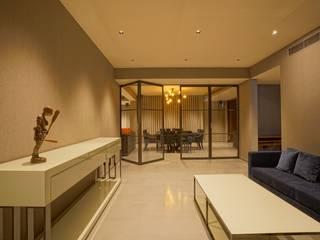 Anusha Technovision Pvt. Ltd. Koridor & Tangga Modern