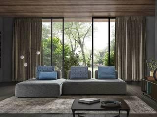 L&M design di Marelli Cinzia Вітальня Синій