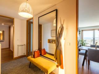 Apartamento em Matosinhos - SHI Studio Interior Design Corredores, halls e escadas escandinavos por ShiStudio Interior Design Escandinavo