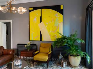 ADU Mimarlık ve Tasarım Ofisi Livings de estilo moderno