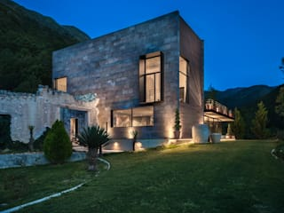 lol arquitectura Country house Stone Grey