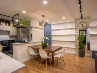 Ju Miranda Arquitetura Modern dining room