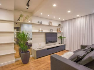 Ju Miranda Arquitetura Modern living room