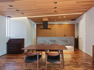 Architect Show Co.,Ltd Modern dining room