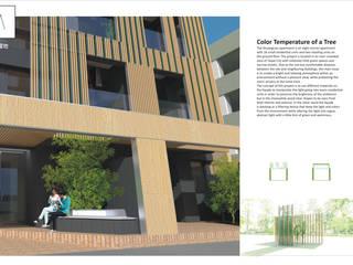 雙連街集合住宅 根據 葉蔭霖建築師事務所 隨意取材風