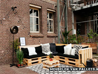 Meubelen van pallets Garden Furniture Wood Wood effect