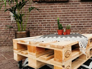 Meubelen van pallets Living roomSide tables & trays Wood Wood effect