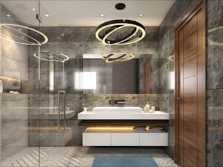 modren bathroom concept by Square Designs