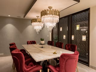 Anusha Technovision Pvt. Ltd. Dining roomLighting