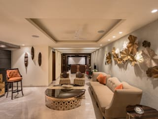 Anusha Technovision Pvt. Ltd. Modern living room