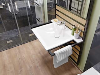 PROJECT FLOORS GmbH Modern style bathrooms