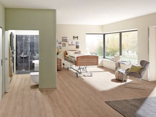 PROJECT FLOORS GmbH Ruang Ganti Modern